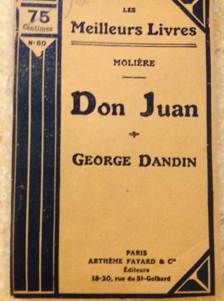 Don Juan / George Dandin