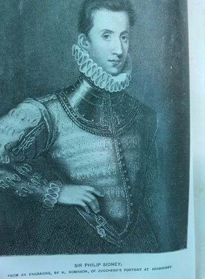 Sir Philip Sidney type of English Chivalry in the Elizabethan Age