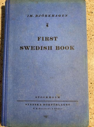 First Swedish Book
