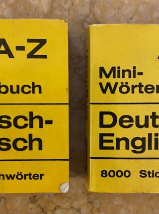 A-Z Mini-Worterbuch English-Deutsch